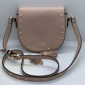 VICTORIA SECRET Small Crossbody Saddle Bag. NWOT